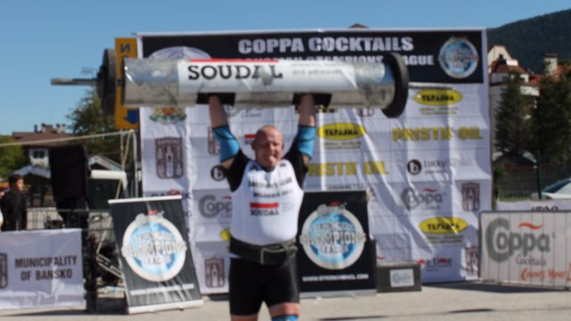 MHP Strongman Champions League  stage 10  - BULGARIA 2012