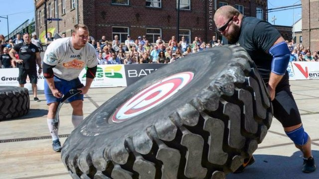 MHP Strongman Champions League stage 03 - Holland 2015