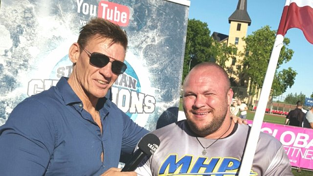 MHP Strongman Champions League stage 06 - Latvia 2015