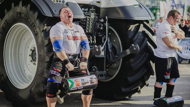 MHP Strongman Champions League stage 12 - Lithuania 2015