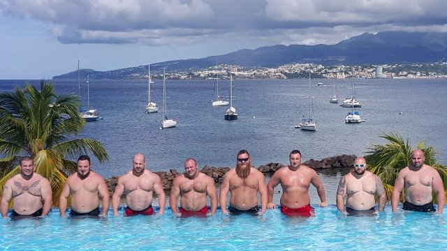 MHP Strongman Champions League stage 14 - Martinique 2015