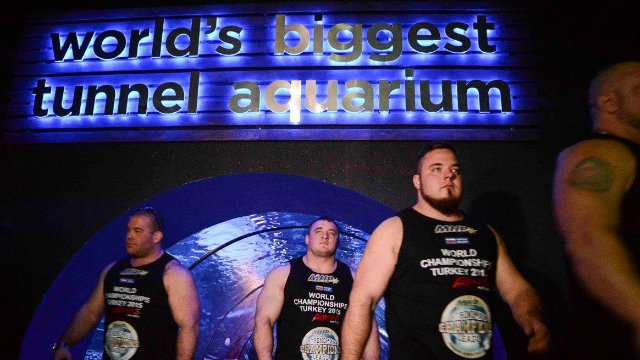 MHP Strongman Champions League stage 16 - Turkey 2015