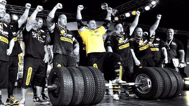 MHP Strongman Champions League stage 02 - Germany 2015