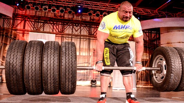 2. MHP Strongman Champions League stage 2 - Germany 2014