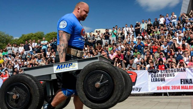 3. MHP Strongman Champions League stage 3 - Serbia 2014