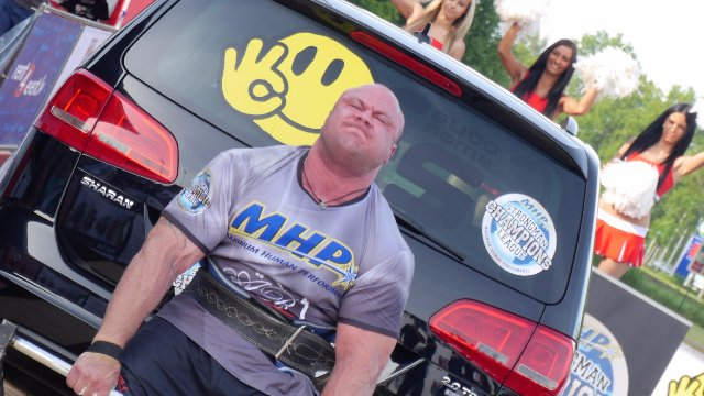 6. MHP Strongman Champions League stage 6 - Latvia 2014