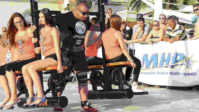 8. MHP Strongman Champions League stage 8 - Croatia 2014