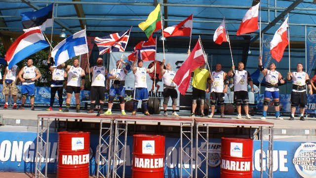9. MHP Strongman Champions League stage - 9 Poland 2014