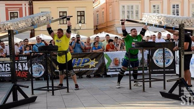 MHP Strongman Champions League stage 10 - Hungary 2014