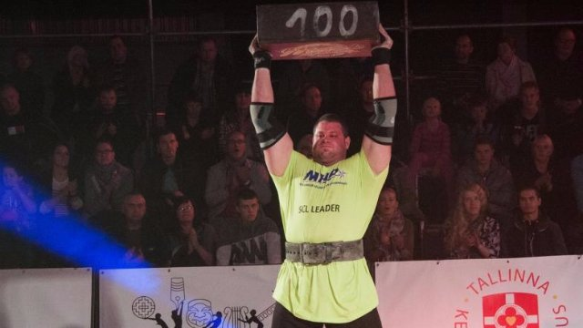 MHP Strongman Champions League stage 14 - Estonia 2014