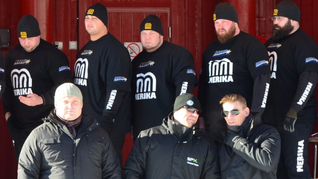 1. MHP Strongman Champions League stage 1 - Lapland 2013