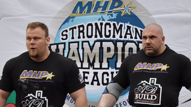 4. MHP Strongman Champions League stage 4 - Latvia 2013