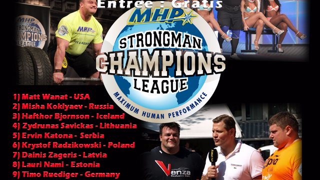 6. MHP Strongman Champions League stage 6 - Holland 2013