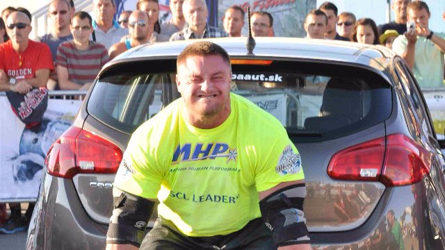MHP Strongman Champions League stage 10 - Slovakia 2013