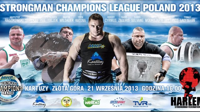 MHP Strongman Champions League stage 12 - Poland 2013