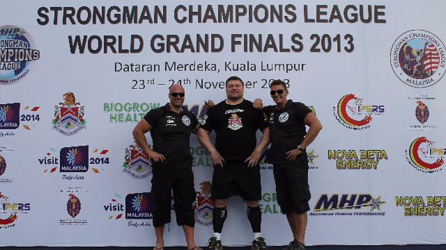 MHP Strongman Champions League stage 16 - Malaysia 2013  WORLD FINALS