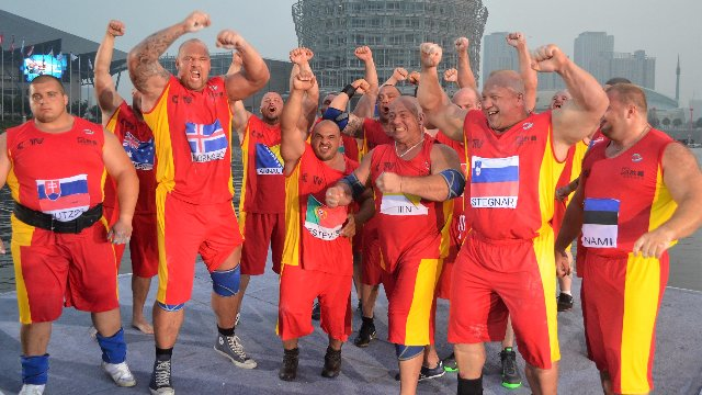World's strongest team   CHINA 2013 - PART 5 - FINALS