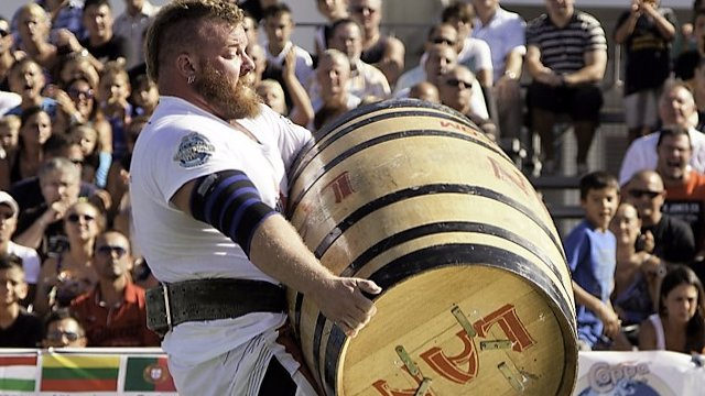 9. MHP Strongman Champions League  stage 9 - 2012 GIBRALTAR