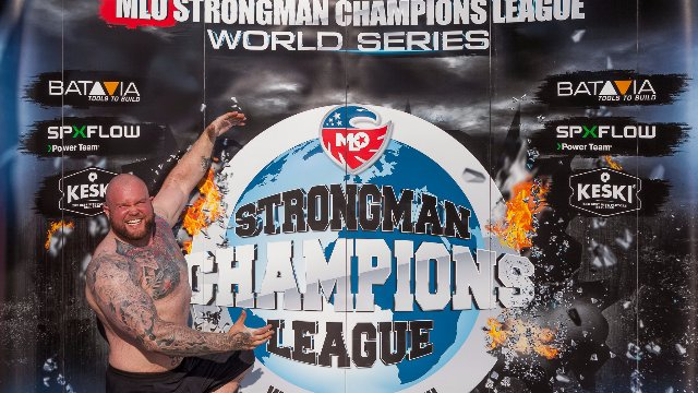 Stage 6 - MLO Strongman Champions League Serbia 2016 - FULL MOVIE