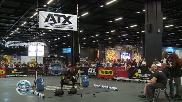 Aivars Weight and height - SCL Germany FIBO- Week 18- 2019