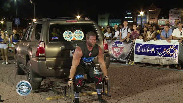 Stage 13 / Curacao - Jonathan Cotton Deadlift -Week 50 /2019
