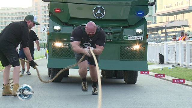 Stage 14 /Dubai - Brian Shaw Truck Pull - Week 52 /2019