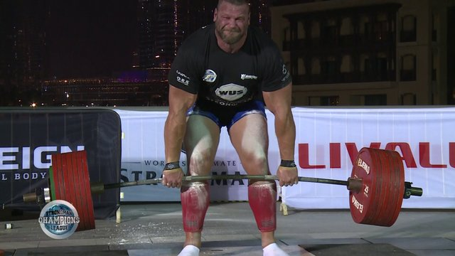 Stage 14 /Dubai - Terry Hollands Deadlift  - Week 52 /2019