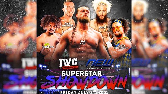 NEW/IWC  Superstar Showdown