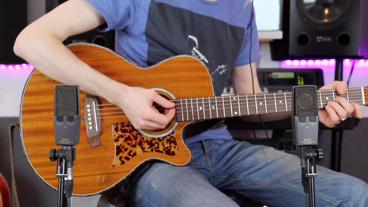 How to record great sounding acoustic guitar in stereo