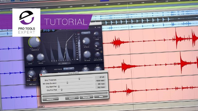 5 Ways You Can Process & Focus Multi-track Drum Tom Tracks In Your Next Mix In Pro Tools