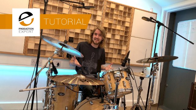 Tutorial - Learn How To Can Get Great Sounding Multi-track Drum Recordings In Small Rooms Using Less Than 8 Inputs