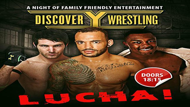 Discovery Wrestling - March 2016 - Featuring Ricochet, Angelico & Shane Strickland