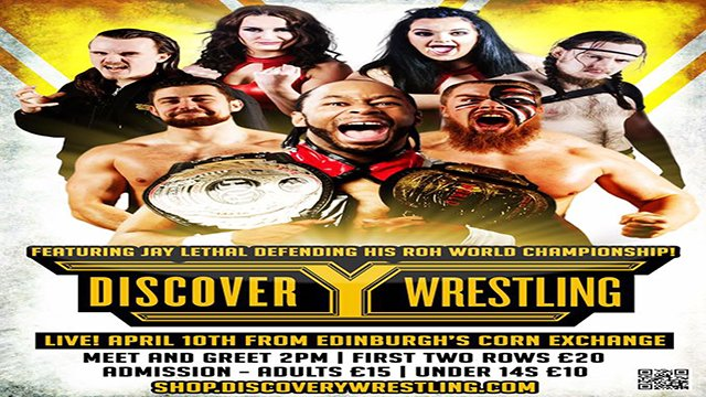 Discovery Wrestling - April 2016 - Featuring - Jay Lethal & Juventud Guerrera