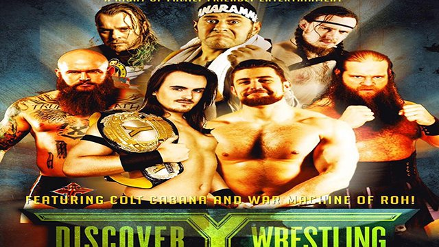 Discovery Wrestling - August 2016 - Featuring Colt Cabana & War Machine