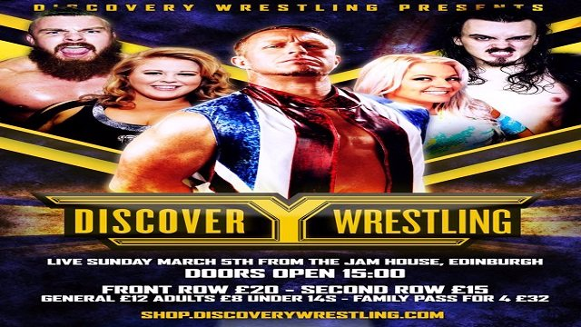Discovery Wrestling March 2017 Show