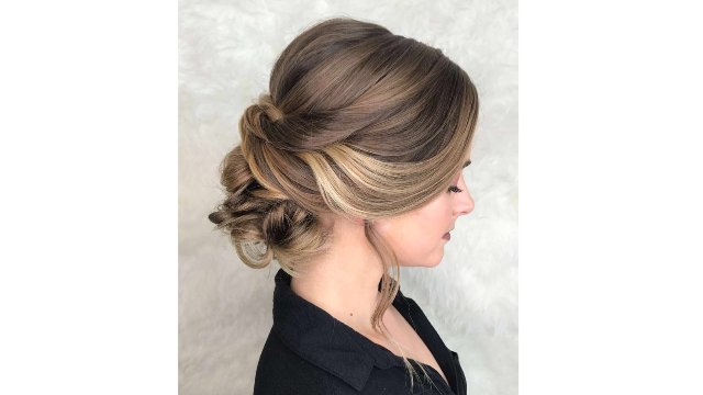 Classic Bridal Updo Hairstyle : Categories heather chapman hair