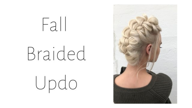 Fall Braided Updo