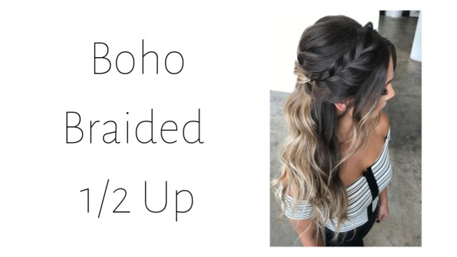 Boho Braided 1/2 Up