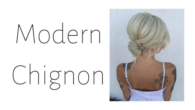 Modern Chignon