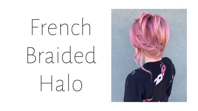 French Braided Halo