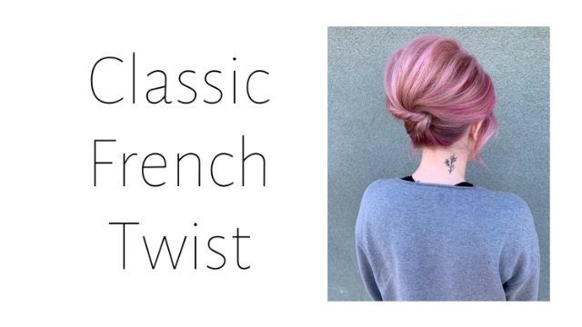 Classic French Twist