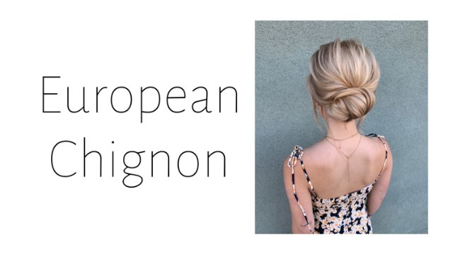 European Chignon