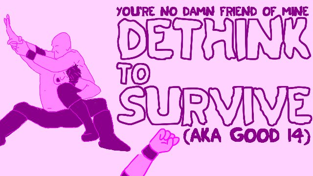 GOOD Wrestling #14 : Dethink to Survive (11/05/2019)