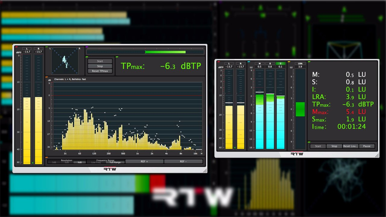 Pro Tools Overview Loudness Metering Plug Ins And Resources Part 2 Phase Correlation Meter 001944
