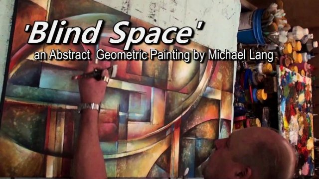 """Blind Space"" MIX Lang Geometric Painting"