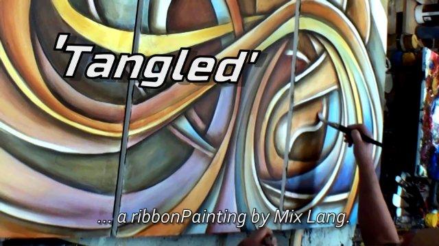 Mix Lang Ribbon Painting