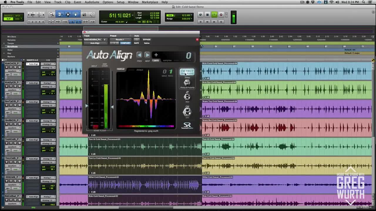 Pro tools video tutorial drum processing with drumatom auto pro tools video tutorial drum processing with drumatom auto align baditri Gallery