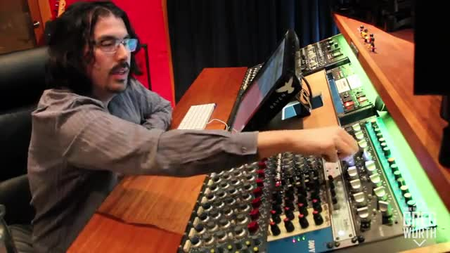 Inside The Studio using Stereo Buss EQs