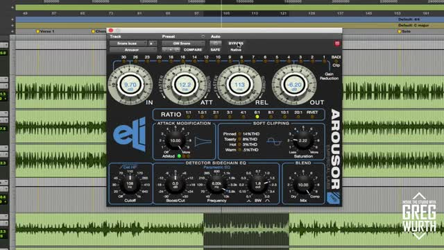 Using the Empirical Labs Arousor in a mix