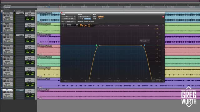 Using Fabfilter Pro Q2 subtly for BIG results